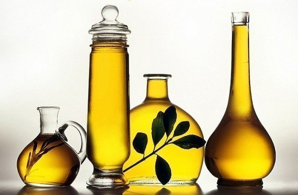 Tratamiento del cabello con aceites calientes
