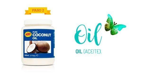 Método LOC: Aceite de coco y manteca de karité