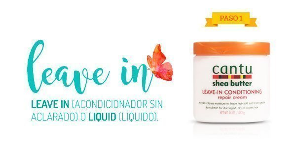 Leave In, acondicionador sin aclarado