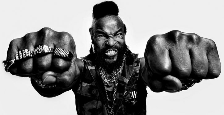 El peinado Mohawk del actor MR. T