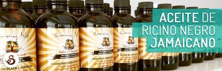 Aceite de ricino negro jamaicano (JBCO)