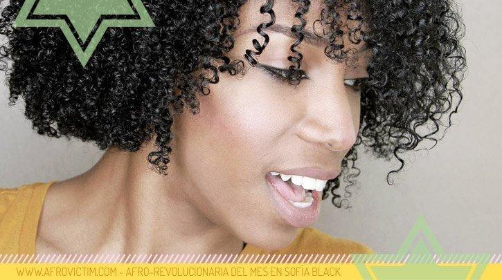 La textura capilar de AfroVictim es 4A / 4B