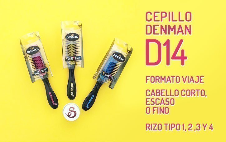 Cepillo Denman D14 Cocktail Collection