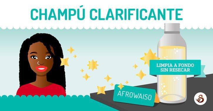 Receta casera para hacer champú clarificante by AfroWaiso