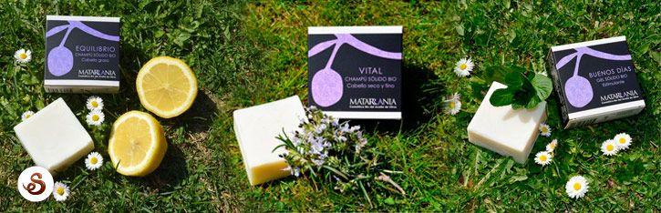 Matarrania tiene jabones sólidos para todas las necesidades.