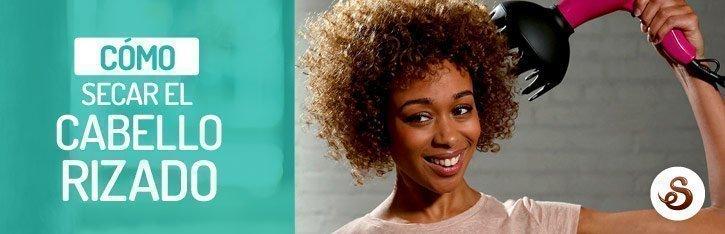 ¿Cómo secar el pelo rizado?