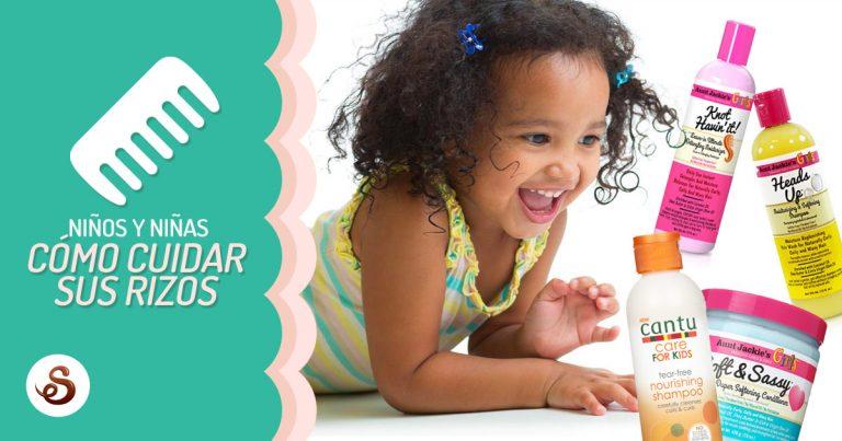 Niños Con Pelo Rizado Y Afro Guía De Cuidados Capilares