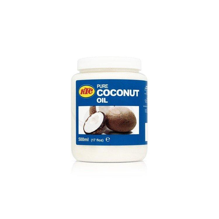 Aceite de coco puro para el cabello