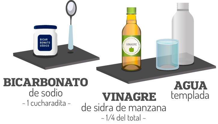 Ingredientes para hacer el champú clarificante casero (DIY)