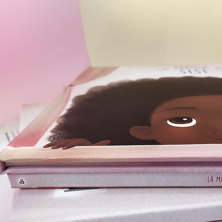 Detalles de la Magia de Sisí - Un cuento sobre el pelo afro