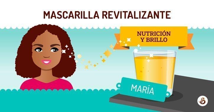 Mascarilla casera revitalizante de aloe y platano (DIY)