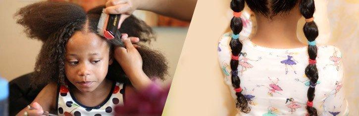 Desenredar el pelo a los niños / Guía de supervivencia