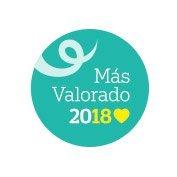Distintivo para los mejores productos para el cabello rizado 2018