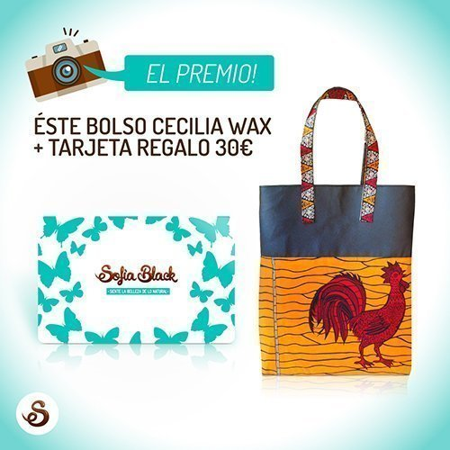 Premio sorteo: Tarjeta Regalo + Bolso Cecilia Wax