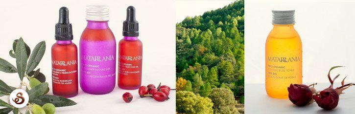 Matarrania te ofrece cosmética 100% ecológica.