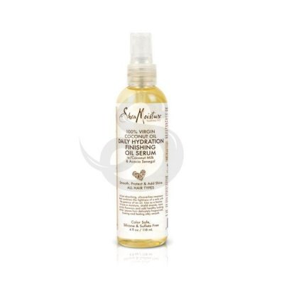 Shea Moisture 100% Virgin Coconut Oil Daily Hydration Finishing Oil Serum